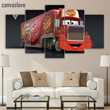 HD Printed 5 pieces Canvas Mack Truck Painting room decoration print poster picture canvas Free shipping/up-121