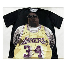 3 Styles Real American size Notorious BIG 3D Sublimatin print  high quality T-shirt Custom Made Clothing plus size