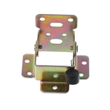 Self Lock Fittings Table Chair Leg Steel Folding Hinges Support Bracket(China)