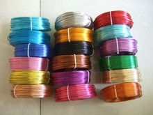2.5 Meters / Roll 3mm Round Aluminium Carft Floristry Wire For Jewellery Beading Making Findings(China)