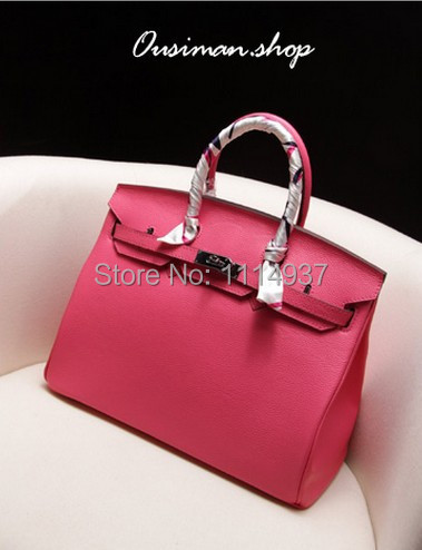 Free shipping 2014 Selected pure cowhide All leather  lychee genuine leather womens handbag shoulder bag<br><br>Aliexpress