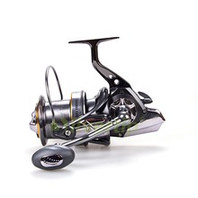 New 10+1 BB Big Game Spinning Fishing Reel AFL 11000 Long Shot Cast Surf Reels Sea Fish Saltwater