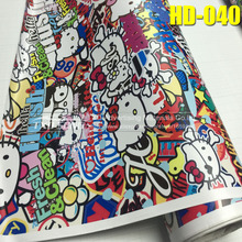 Premium HD040 Car Stickers on Motorcycle Suitcase Home Decor Phone Laptop Covers DIY Vinyl Decal Sticker Bomb JDM Car styling(China)