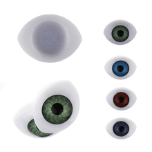 CCINEE 8PCs/lot BJD Dolls Eyes 19x30MM Plastic Eyeballs Doll Accessories BJD Toys Accessories For Doll Eyes(China)