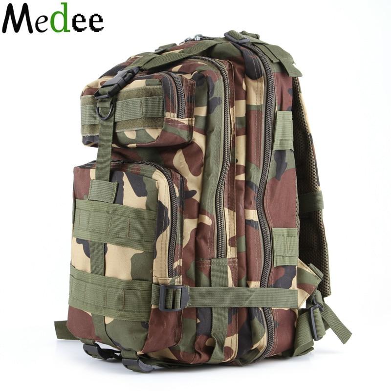 Medee 2017 Notebook Backpack Camouflage Waterproof CS Mountaineering Package 35L Canvas Backpacks Sac a dos Randonnee BPK148<br>