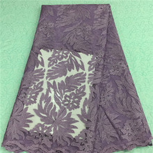 AN-1666 2015 Newest Customized China Factory Supplier swiss Lace Fabric African Swiss Voile Lace wedding dress(China)
