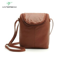 Women Leather Tote Small Shoulder Bag For Young Girl Ladies Handbags Shopping Messenger Bag With Outside Package Purse Simple(China)