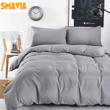 SMAVIA New Arrival Style 3/4pcs Bedding sets Polyester for Home/Hotel Bed line Duvet cover sets Twin/Full/Queen/King 29 Colors