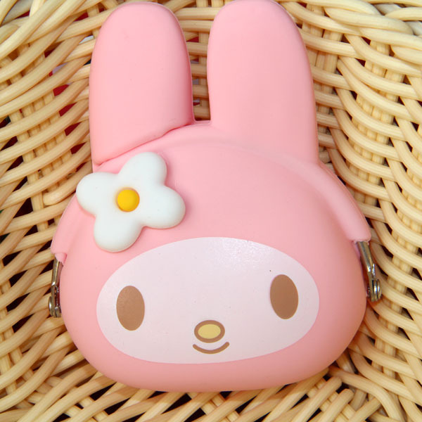 Change Purse Candy Color Bunny Cat Silicone Coin Purse Kids Gift CartoonTrendy Baby Mini Coin Bag Lady Change Cat Wallet<br><br>Aliexpress