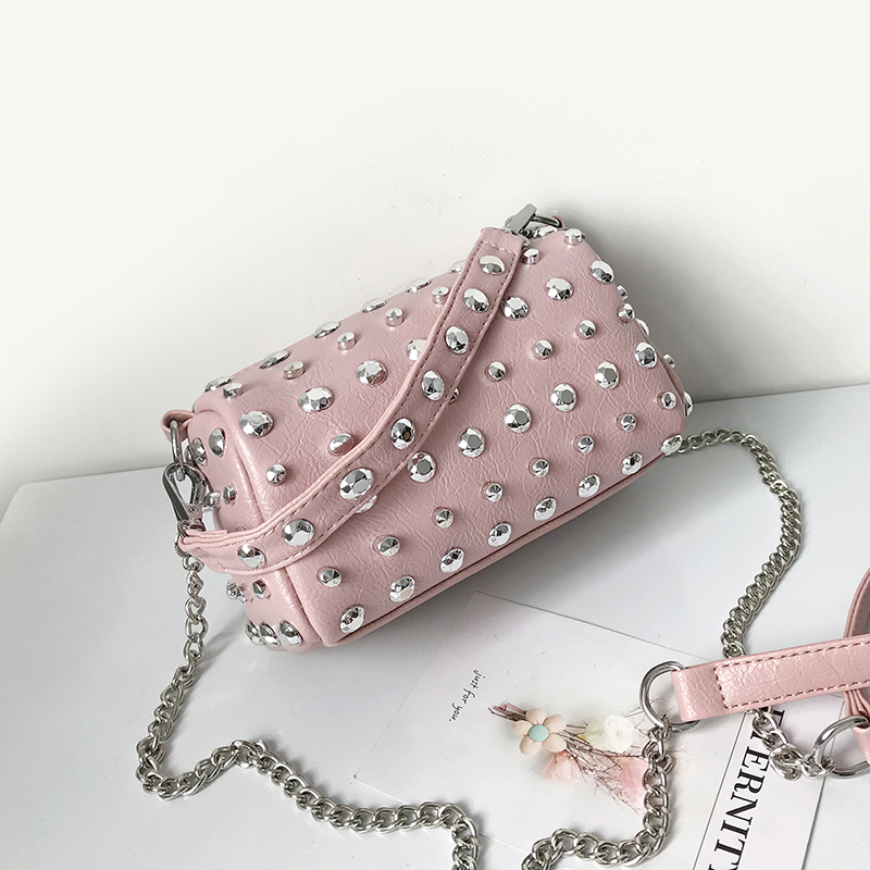 Women's Handbags Boston Bags Ladies Tassel Button Messenger Bags Leather Shoulder Bags Designer Bucket Bag Clutch Metal Pointed 44 Online shopping Bangladesh