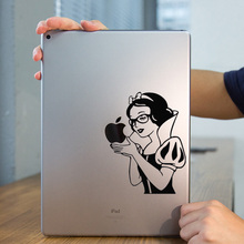 "Snow White Vinyl Tablet PC Laptop Decal Sticker for iPad 1/2/3/4/Air/mini/Pro 7.9"" / 9.7"" / 12.9""  Art Notebook Sticker Skin"