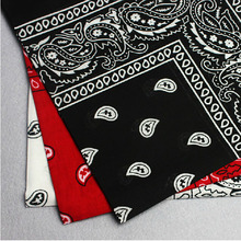 Cotton Paisley Bandanas Double Sided Head Wrap Bandana Scarf Wristband for Women Men Bicycle Bandanas Scarf Face Mask Headscarfs(China)
