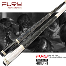 New Fury Billiards Pool Cue 11.75mm/12.75mm KAMUI Tip With Case Set China(China)