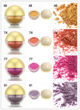 New Arrivel Color Shimmer Pearl Eyeshadow Powder Eye Shadow Ball Pigment Make-up Tool