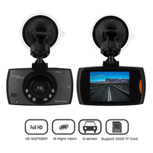 "Car DVR Camera G30 Full HD 1080P 2.4"" Car Dvr Recorder + Motion Detection Night Vision G-Sensor Dvrs Dash Camera Black Box"
