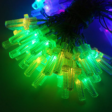 AA Battery Operated 10M 100 LED Christmas Holiday Wedding Party Decoration Festi LED Christian Cross String Fairy Lights Lamps(China)