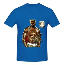 50 Cent Get Rich Or Die Tryin 80s Mens Crew Neck Big Tall Tee Shirts
