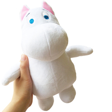 1PCS 23cm Free shipping Genuine Moomin Hippo Plush Toy Stuffed Doll little fertilizer valentine Park Spring bom