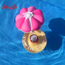Amysh Summer Inflatable Toys Drink Can Holder PVC Inflatable Floating coconut tree Toy Swimming Pool Bathroom Beach Water Toys(China)