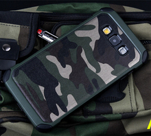 2 in 1 Army Camo Camouflage Hybrid Armor Capa Cases for Samsung Galaxy Note 5 4 Grand Prime G530 Core Prime G360 Military Funda