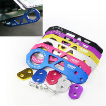 Free Shipping JDM car-styling Rear Tow Hook Aluminum Alloy Rear Tow Hook Blue/Red/Silver/Black/Gold/Purple