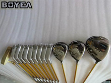 13PCS 3 Star Boyea S-03 Golf Complete Set Golf Clubs Driver + Fairway Woods + Irons + Putter No Bag Golf Clubs Ship by EMS