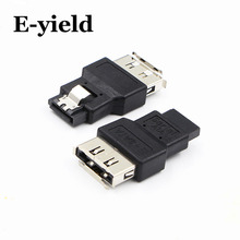 Portable SATA Male Jack to ESATA Female Plug Convert Convertor Adapter Connector For HDD Hard Drive