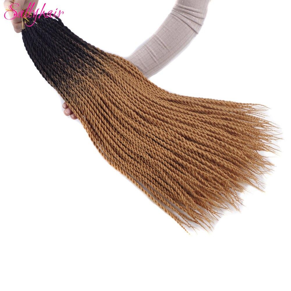 Ombre Color Senegal Twist Braids Crochet Braids Hair Extensions (7)_