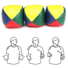1Pc Juggling Balls Set Classic Bean Bag Juggle Magic Circus Kids Toy Gift New
