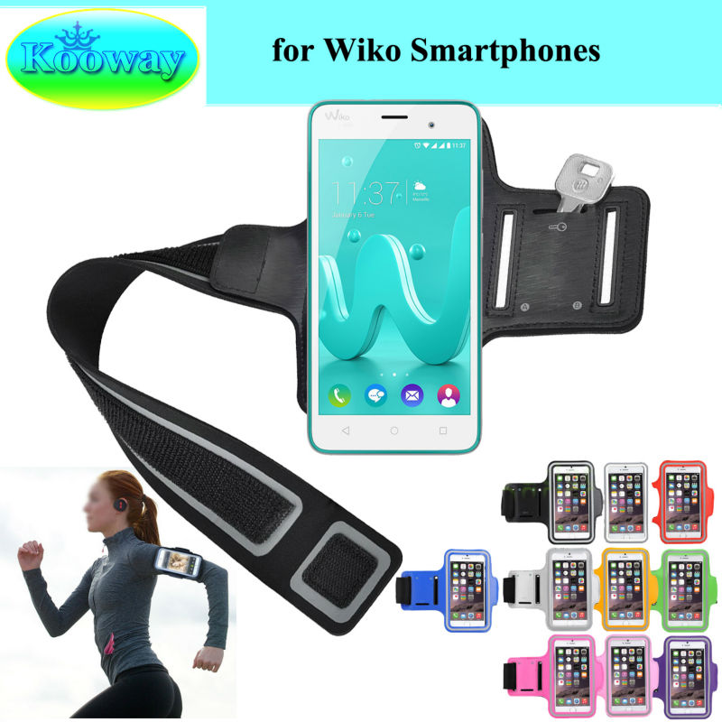 Waterproof Workout Brush Cover Gym Case For Wiko Freddy U Feel Prime Jerry Arm