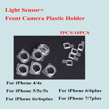 Buy 10pcs/5pcs iPhone 7 6 6S Plus 5 5C 5S SE 4 4S Front Camera Plastic Cap Seal Bracket Clip Ring+Light Sensor Circle Holder for $1.28 in AliExpress store