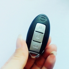 For Nissan Key Replacement Fob Key Shell Case Remote KEY Cover 3 Buttons For Nissan Armada Versa Juke Note Micra Cube with LOGO