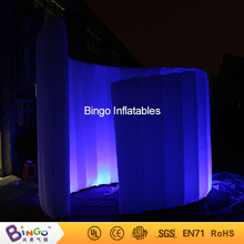 Custom made advertising inflatable tent with spiral shape inflatable photo booth event toy