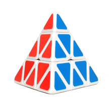 The New Mini Pyramid Stickers NEO Cube Magic Professional Axis Magic Cube Irregularly Learning Education Toys For Children