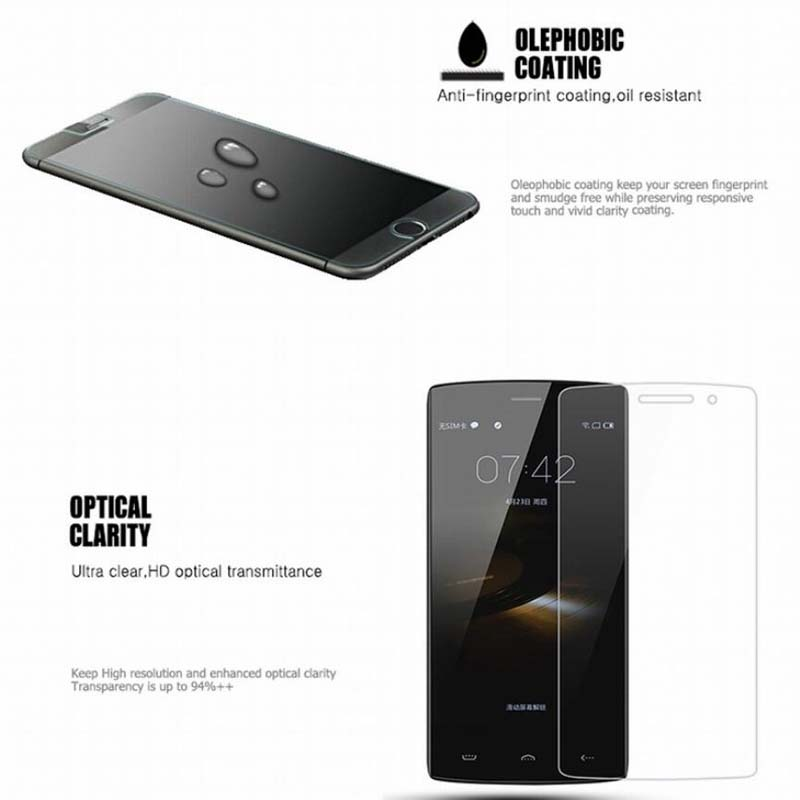 Clear Front glass for doogee x5
