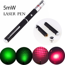 New Hunting laser Sight device 5mW Laser Pointer 500 meters red/green light stars laser pointer flashlight (without battery)