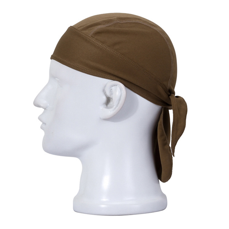 Bicycle Hat Men Women Cycling Pirate Cap Helmet Black Quick Dry Head Scarf MTB Team Headband Green White Ciclismo PA0195 (2)