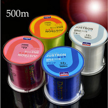500m Fishing line of nylon monofilament fishing line Japanese durable maritime rock thick wire spool Daiwa entire size 6 colors