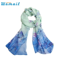 Womail Good Deal Good Deal  New Women Lady Women Chiffon Soft Neck Scarf Shawl Scarves Stole Wraps Gift 1PC
