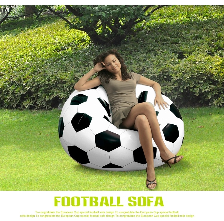 Inflatable Sofa Chair Large Football Basketball Design Bean Bag Chair for Adults &amp; Teens Perfect for Indoor &amp; Outdoor Armchair <br><br>Aliexpress