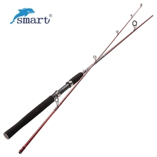 2 Section 1.68/1.8/1.98m Spinning Fishing Rod L/ML/M Power Carbon Lure Rods Vara De Pesca Carp Rod Olta Sea Ocean Fishing Tackle