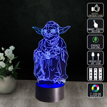 Star Wars LED Night Light Table Lamp Bedside Lampe Lampara Infantil Baby nightlights Decorative Luminaria de mesa Portable Lampy
