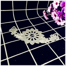 Nice Flower Decorative Metal Cutting Dies Stencils for DIY Scrapbooking/photo album Decorative Embossing DIY Paper Cards