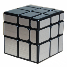2017 New Moyu Mofangjiaoshi 3x3x3  Mirror Block 3Layers Cube Magic Cube Twist Puzzle Speed Cube Special Toys