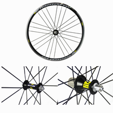 FEDEX shipping light weight clincher alloy wheels 700C AL6061 T6 aluminum wheelset hub for road racing bike bicycle used