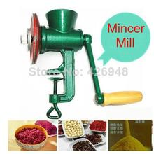 household Chili Soybean Grain Rice Mill Wheat Corn Flour Hand Crank Oats Flour Cast iron Mill Grinding Miller Pulverizer Mincer