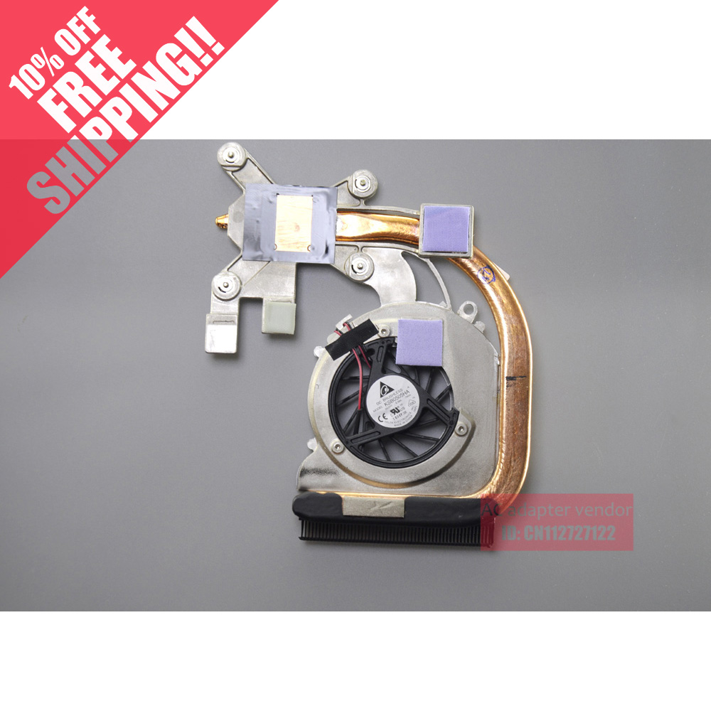 New Replace  FOR HP CQ40 CQ41 CQ45 DV4 fan heatsink heat pipe brass use FOR AMD<br>
