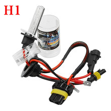 Buy 2pcs 55W H1 Car HID Xenon Replacement Auto Light Source Headlight Lamp Bulb AC12V 6000K for $6.60 in AliExpress store