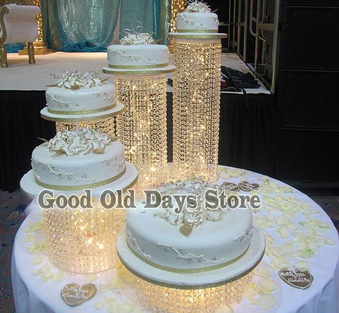 Großhandel 40 Stücke Kristall Hochzeitstorte Europa Hochzeit Kuchen Delectable How To Display Cupcakes Without A Stand
