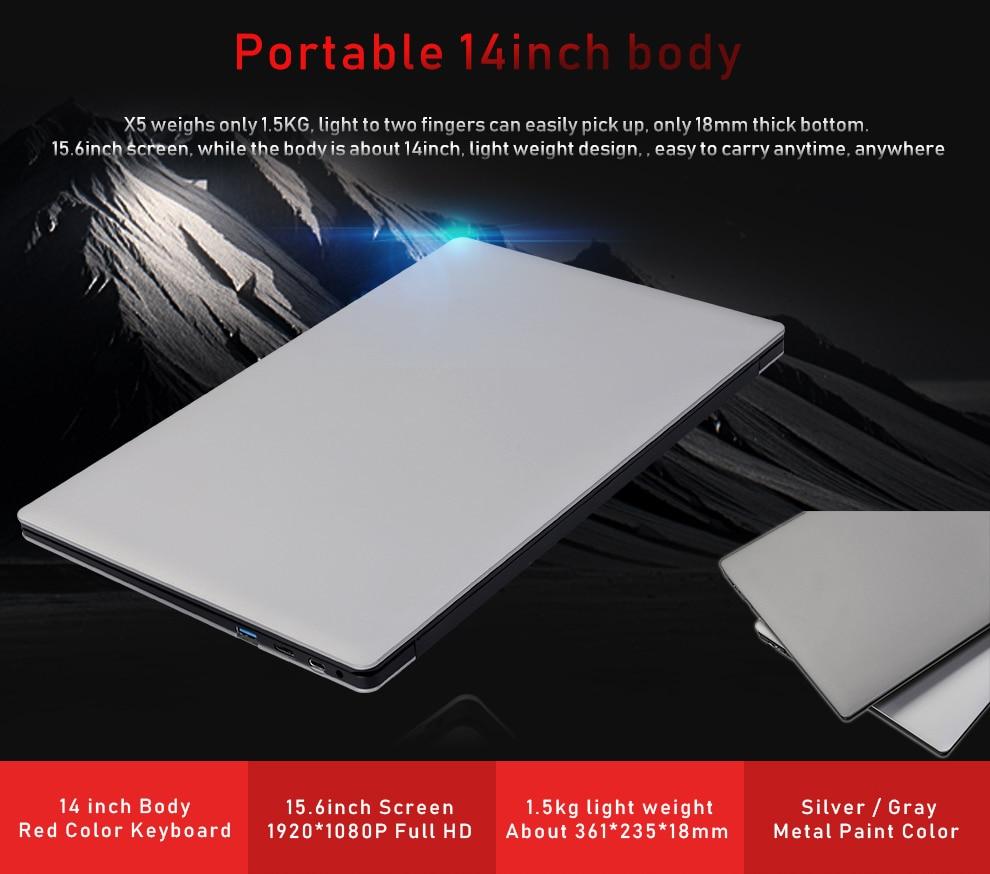 ZEUSLAP 15.6inch 1920*108P IPS 10000mAh battery 6gb ram 500gb 750gb 1000gb hdd win 10 Netbook Notebook Computer Laptop